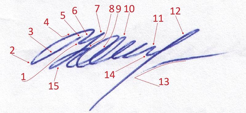 почерковедческая экспертиза подписи вопросы